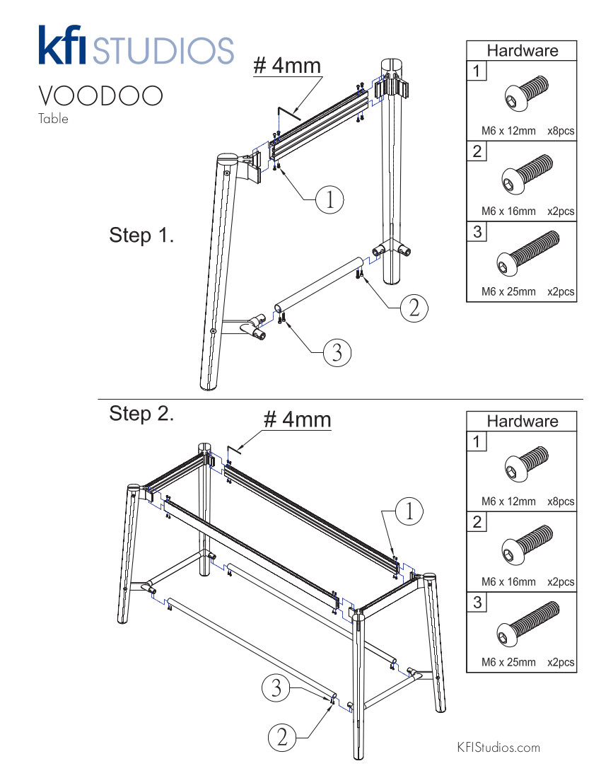 Voodoo Assembly<br /> Brochure