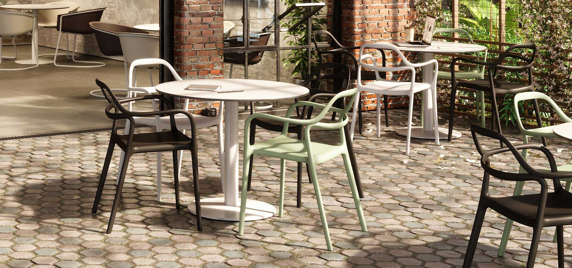 Express Yourself outdoor seating image