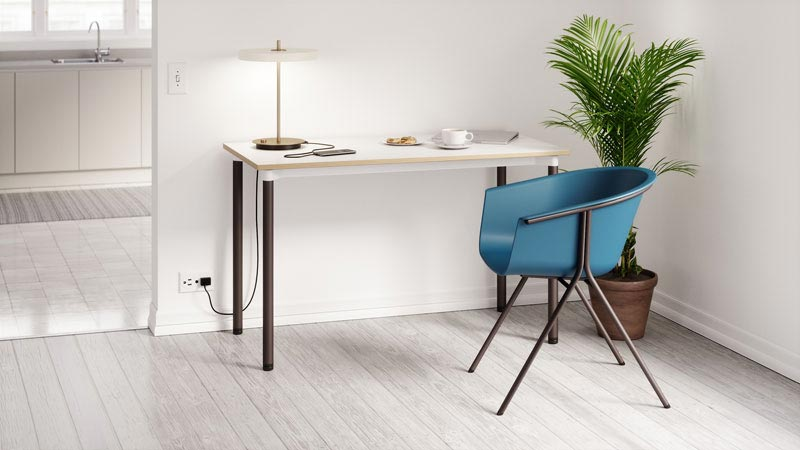 Dailey Desk with Roqa seating image